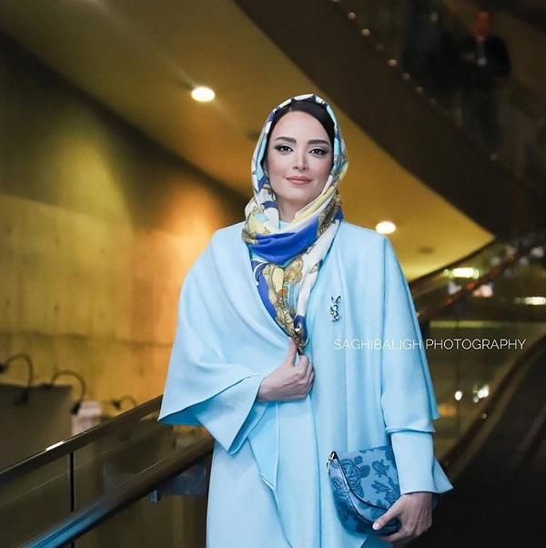 مدل مانتو بازیگران در جشنواره فجر ۹۷ - بهنوش طباطبایی