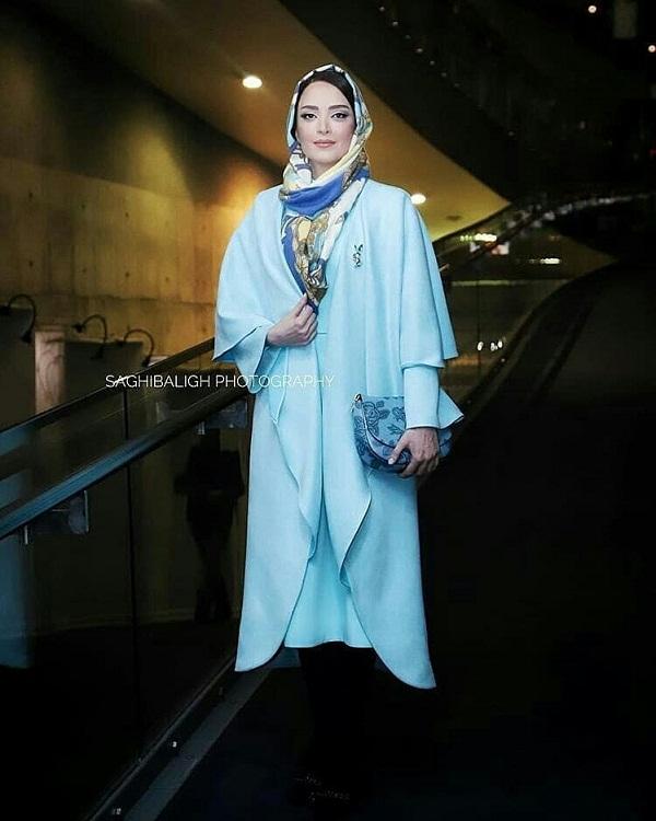 مدل مانتو بازیگران در جشنواره فجر ۹۷ - بهنوش طباطبایی۲