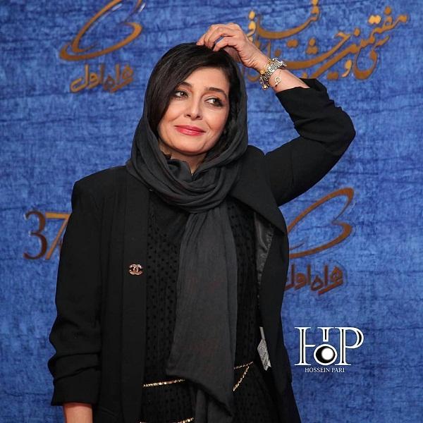 مدل مانتو بازیگران در جشنواره فجر ۹۷ - ساره بیات۶