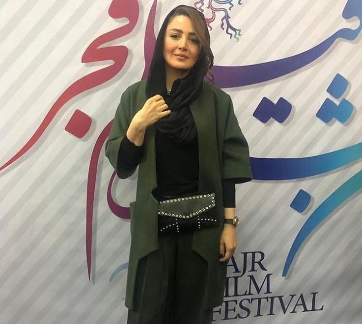مدل مانتو بازیگران در جشنواره فجر ۹۷ - شیلا خداداد