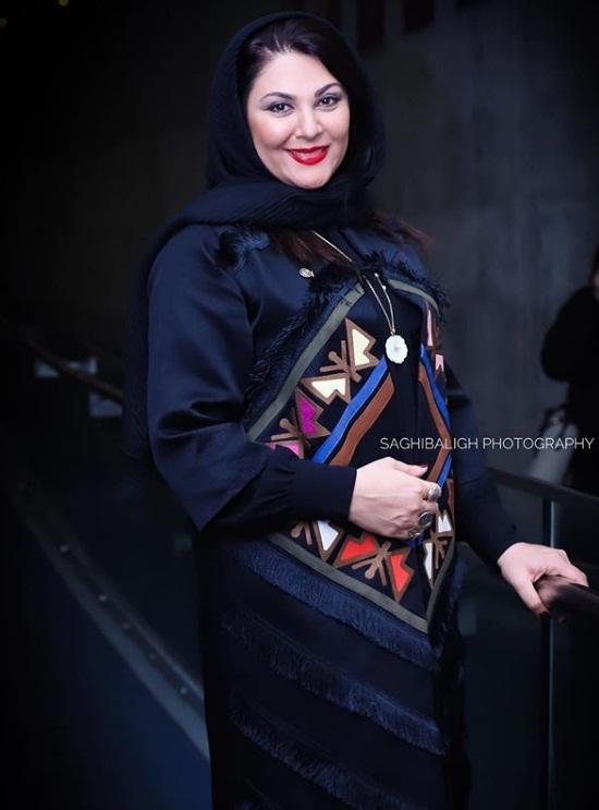 مدل مانتو بازیگران در جشنواره فجر ۹۷ - لاله اسکندری