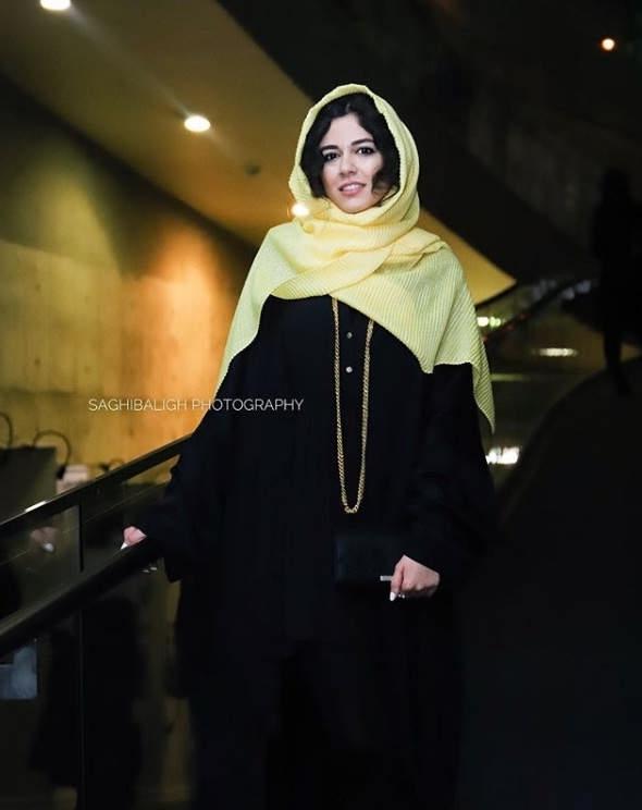مدل مانتو بازیگران در جشنواره فجر ۹۷ - ماهور الوند