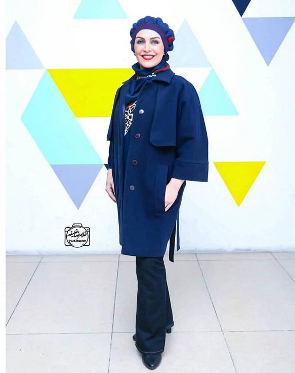 مدل مانتو بازیگران در جشنواره فجر ۹۷ - ماهچهره خلیلی۲