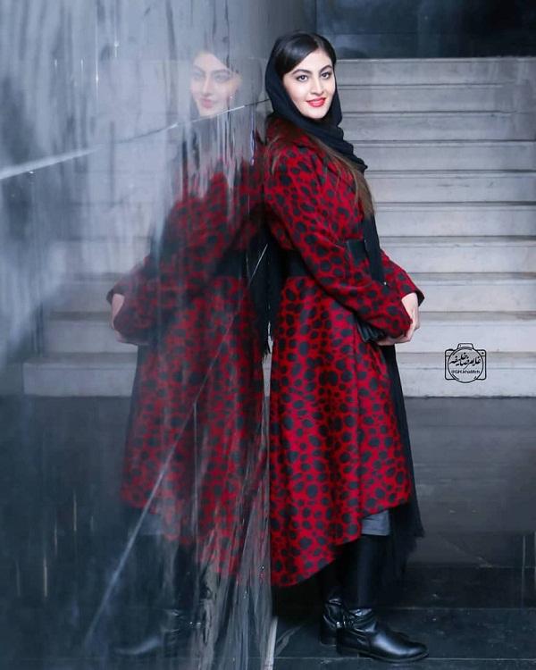 مدل مانتو بازیگران در جشنواره فجر ۹۷ - مریم مومن۲