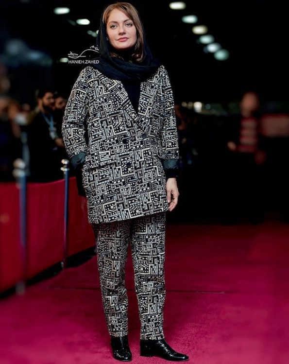 مدل مانتو بازیگران در جشنواره فجر ۹۷ - مهناز افشار