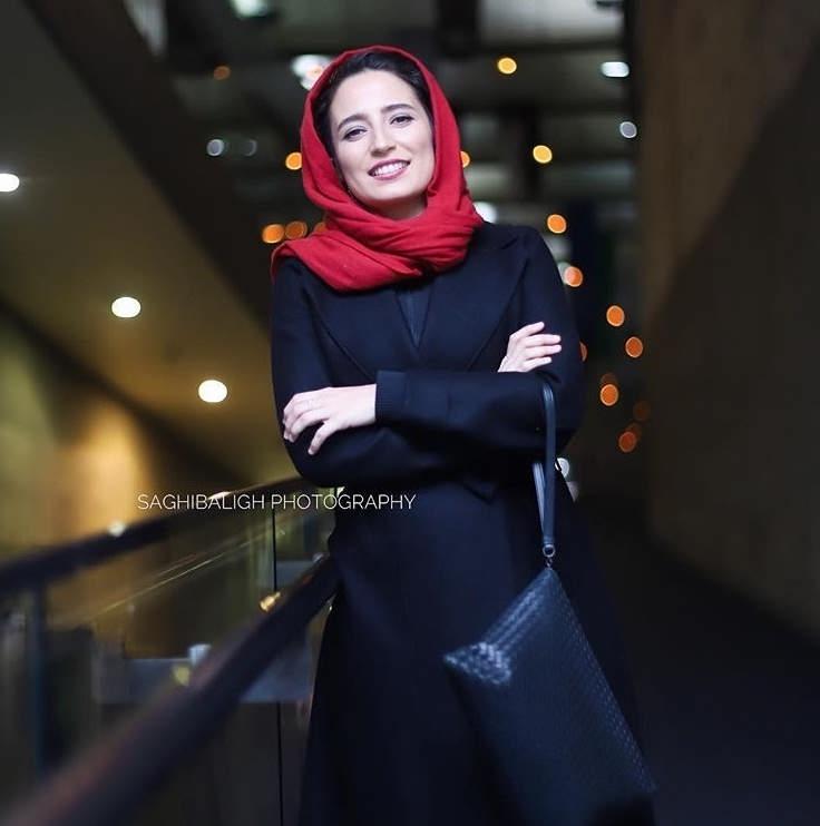 مدل مانتو بازیگران در جشنواره فجر ۹۷ - نگار جواهریان