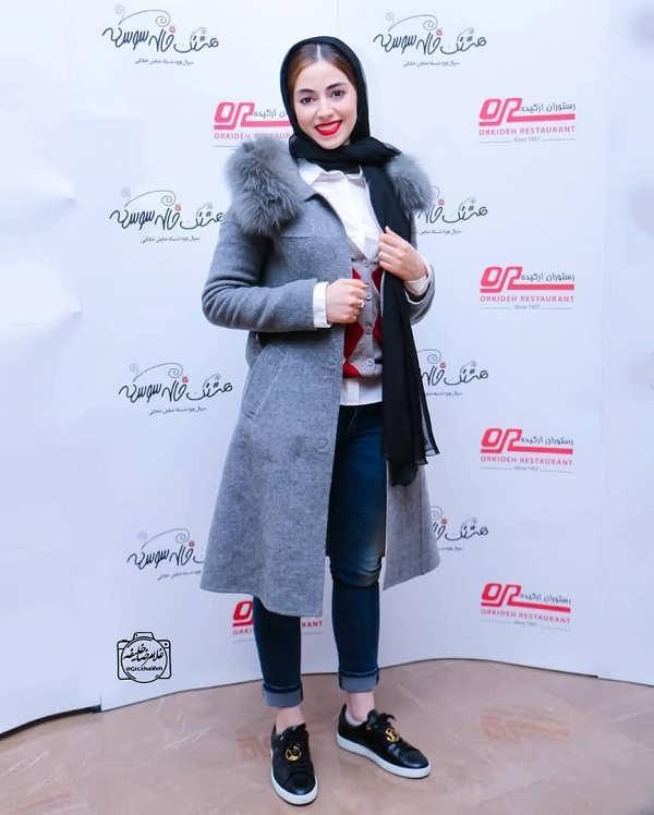 مدل مانتو بازیگران در جشنواره فجر ۹۷ - نیلوفر رجایی فر۲