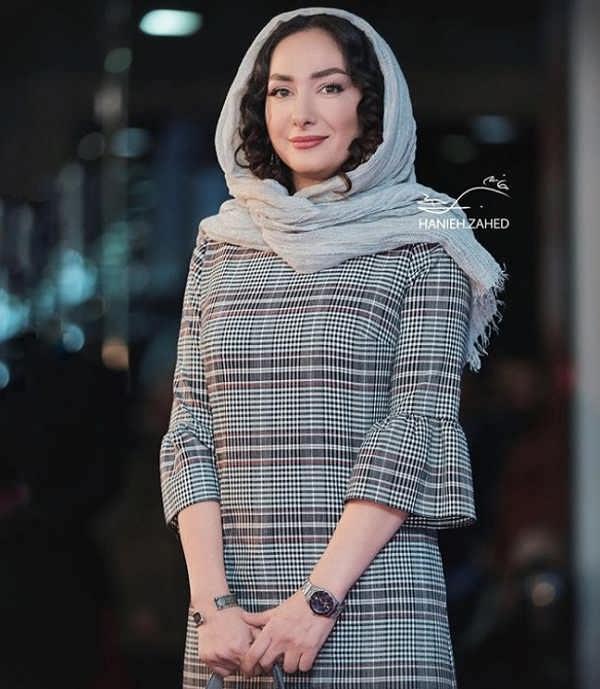 مدل مانتو بازیگران در جشنواره فجر ۹۷ - هانیه توسلی