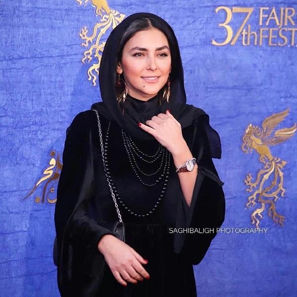 مدل مانتو بازیگران در جشنواره فجر ۹۷ - هدی زین العابدین