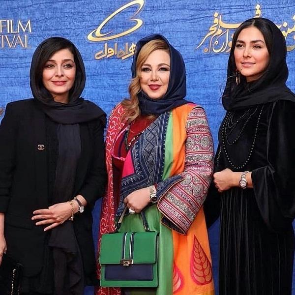 مدل مانتو بازیگران در جشنواره فجر ۹۷ -۴