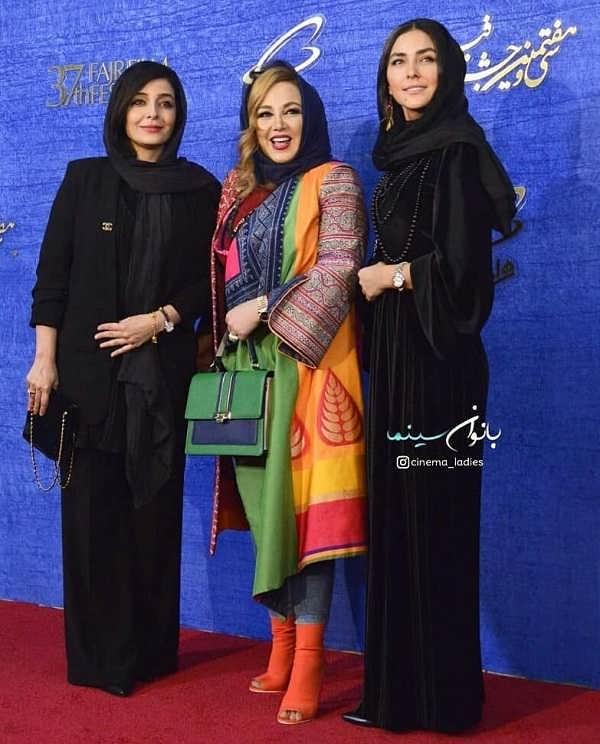 مدل مانتو بازیگران در جشنواره فجر ۹۷۲