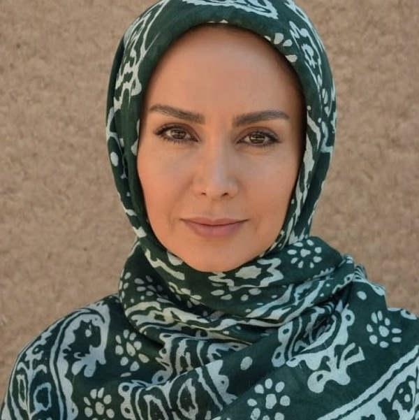مریم خدارحمی بازیگر نقش گلرخ در سریال خاک گرم