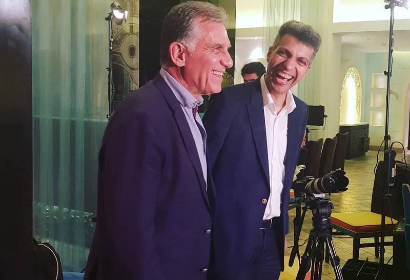 فیلم مصاحبه کامل کارلوس کیروش با برنامه نود قبل از ترک ایران