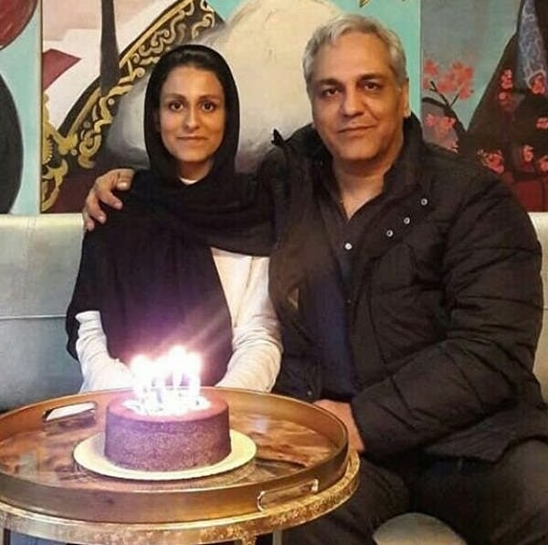 مهران مدیری در مراسم تولد دخترش شهرزاد