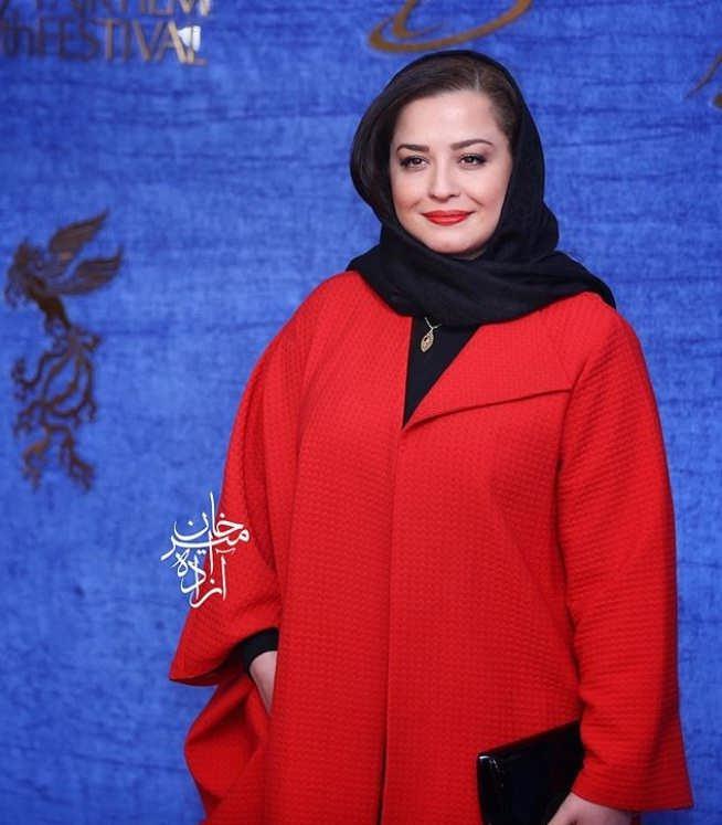 مهراوه شریفی نیا در اکران فیلم خونگاه