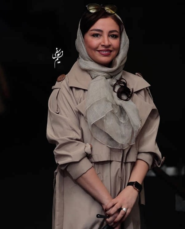 مدل مانتو بازیگران در جشنواره فجر ۹۷ - مه لقا باقری