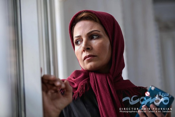 نسرین نکیسا بازیگر نقش هاجر در سریال ممنوعه