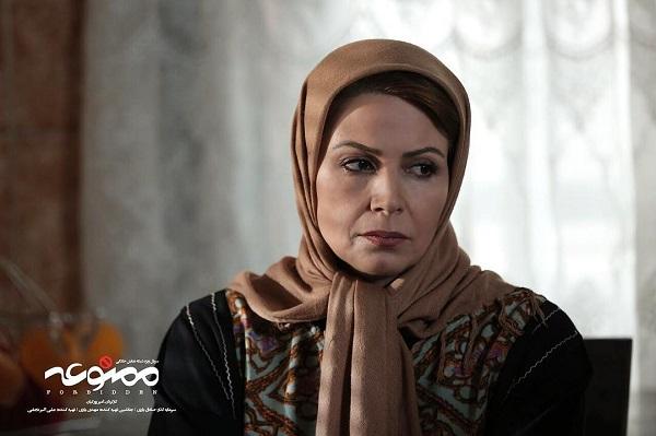 نسرین نکیسا بازیگر نقش هاجر