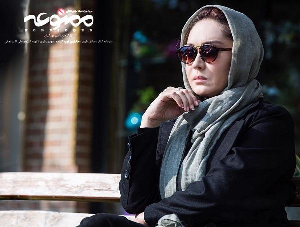 نیکی کریمی بازیگر نقش پروانه در سریال ممنوعه