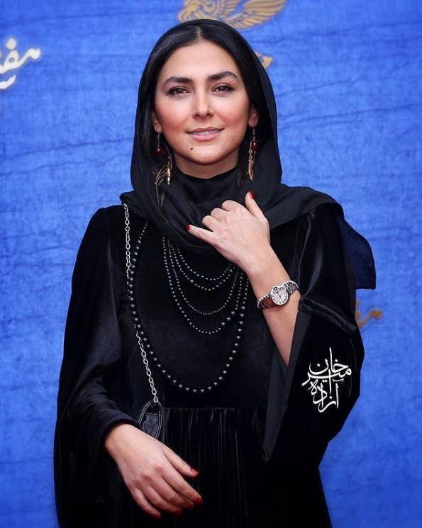 هدی زین العابدین در اکران فیلم سمفونی نهم
