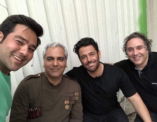 عکس مهران مدیری و محمدرضا گلزار