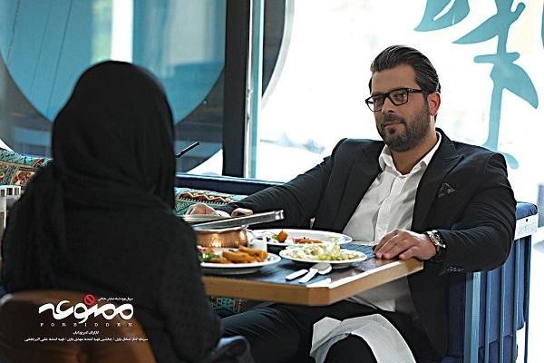 پژمان بازغی بازیگر نقش کامران در سریال ممنوعه
