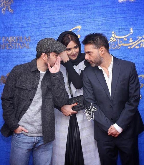 پیمان معادی - پریناز ایزدیار و نوید محمدزاده در فیلم متری شیش و نیم