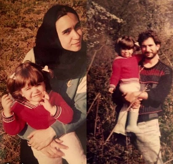 کودکی ستاره پسیانی و مادر پدرش