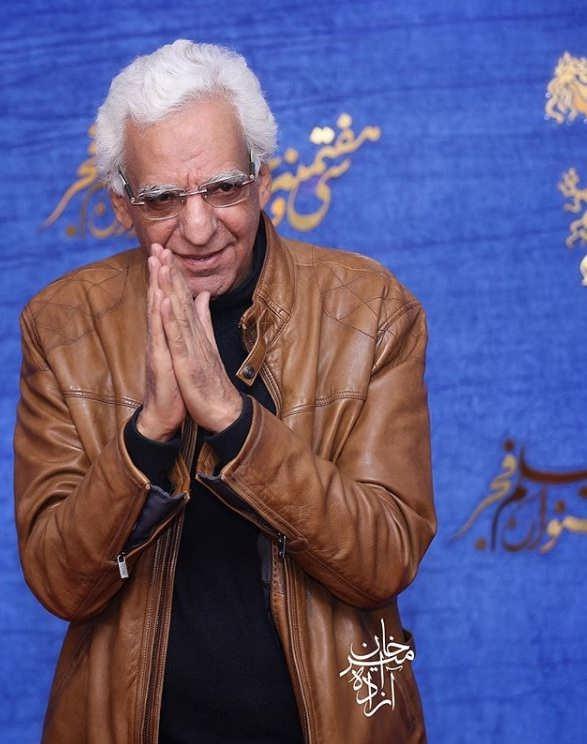 کیومرث پوراحمد در اکران فیلم تیغ و ترمه