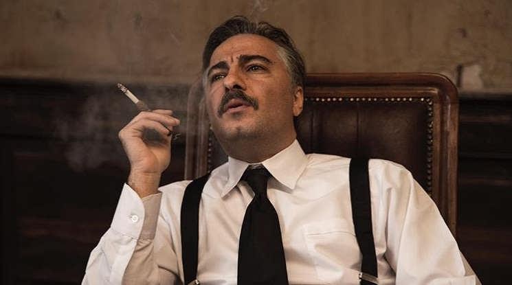 گریم نوید محمدزاده در فیلم سرخپوست