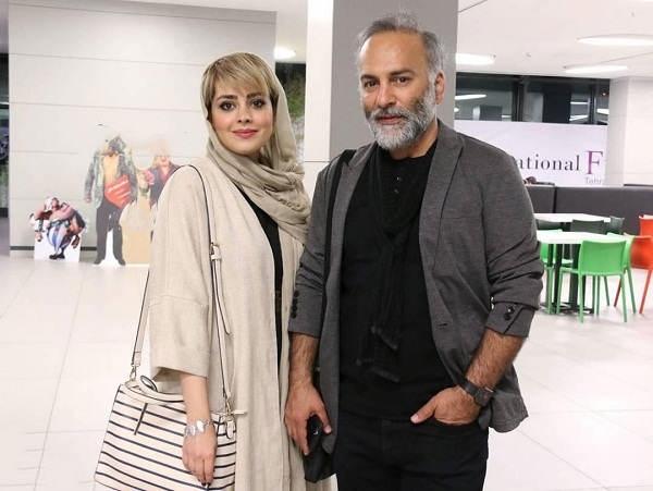 بیوگرافی حمیدرضا آذرنگ و همسرش ساناز بیان۴