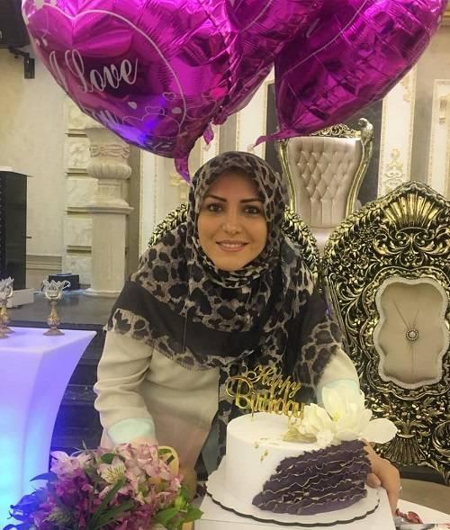عکس تولد المیرا شریفی مقدم