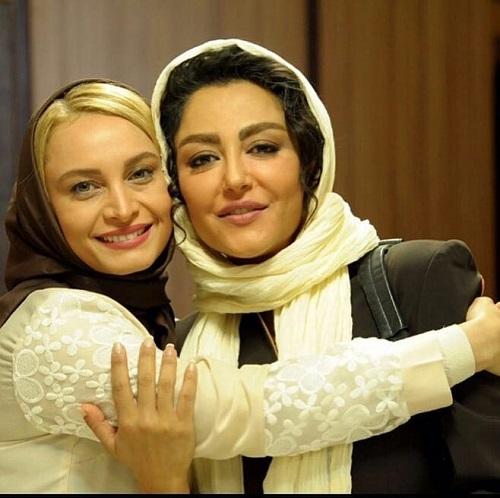 عکس مریم کاویانی و شقایق فراهانی