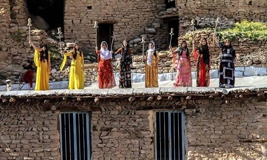 روستای پالنگان در نوروز