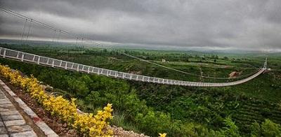 طولانی ترین پل معلق خاورمیانه کجاست؟