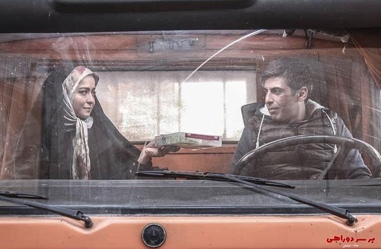 عکس بازیگران سریال بر سر دوراهی،حمید گودرزی و مهراوه شریفی نیا