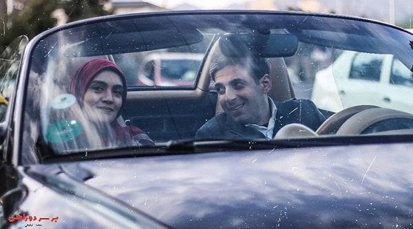 عکس بازیگران سریال بر سر دوراهی،حمید گودرزی و میترا حجار