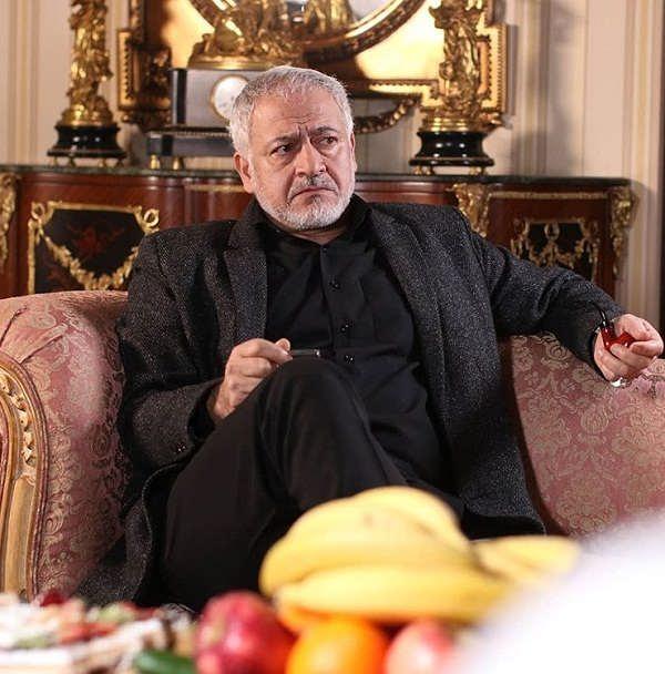 عکس بازیگران سریال بر سر دوراهی،مجید مشیری۲