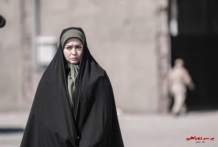 عکس بازیگران سریال بر سر دوراهی، مهراوه شریفی نیا