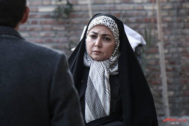 عکس بازیگران سریال بر سر دوراهی، یلدا قشقایی
