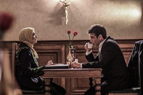 عکس بازیگران سریال بر سر دوراهی،میترا حجار و حمید گودرزی