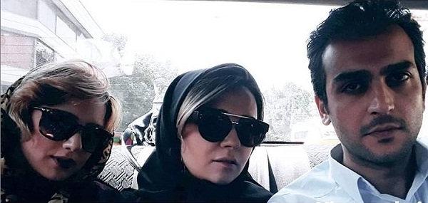 عکس زهره ساداتی، مهتاب اکبری و نیما نادری