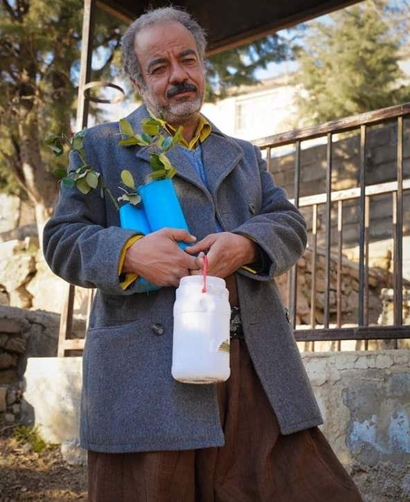 عکس سعید آقاخانی در سریال نوروزی نون خ