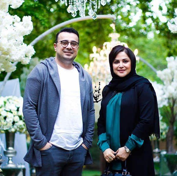 عکس سپند امیرسلیمانی و خواهرش کمند امیرسلیمانی