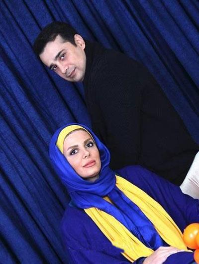 عکس سپند امیرسلیمانی و همسرش مارال آراسته