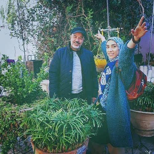 عکس صبا ایزدپناه و سعید آقاخانی در سریال نون خ