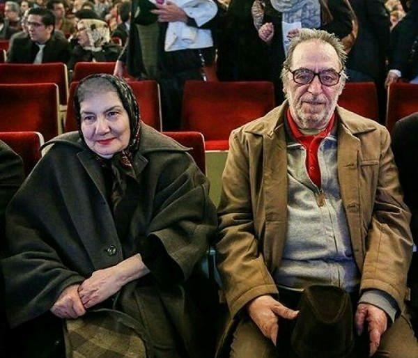 عکس فریده سپاه منصور و همسرش هوشنگ توکلی