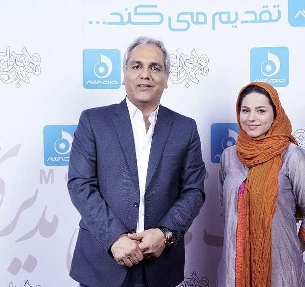 عکس محیا اسناوندی و مهران مدیری
