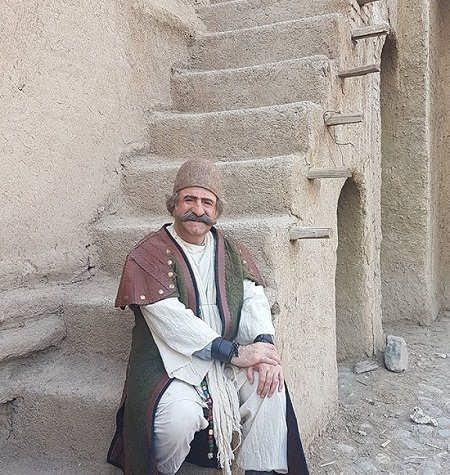عکس مهران رجبی در افسانه هزارپایان