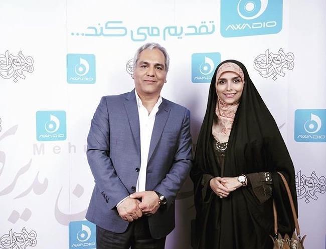 عکس مژده لواسانی و مهران مدیری